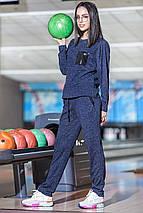 Спортивный костюм из ангоры с имитацией топа, фото 3