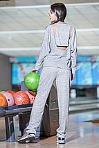 Спортивный стильный костюм из ангоры, фото 3