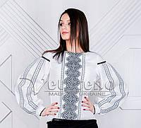 Жіноча вишиванка з геометричним узором.Натуральна тканина 45063a5325bf8