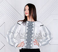 Жіноча вишиванка з геометричним узором.Натуральна тканина 1951f9f5f9410