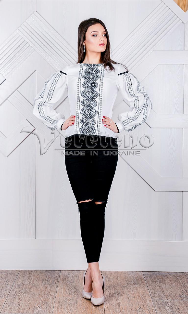 Жіноча вишиванка з геометричним узором.Натуральна тканина ff2623e341355