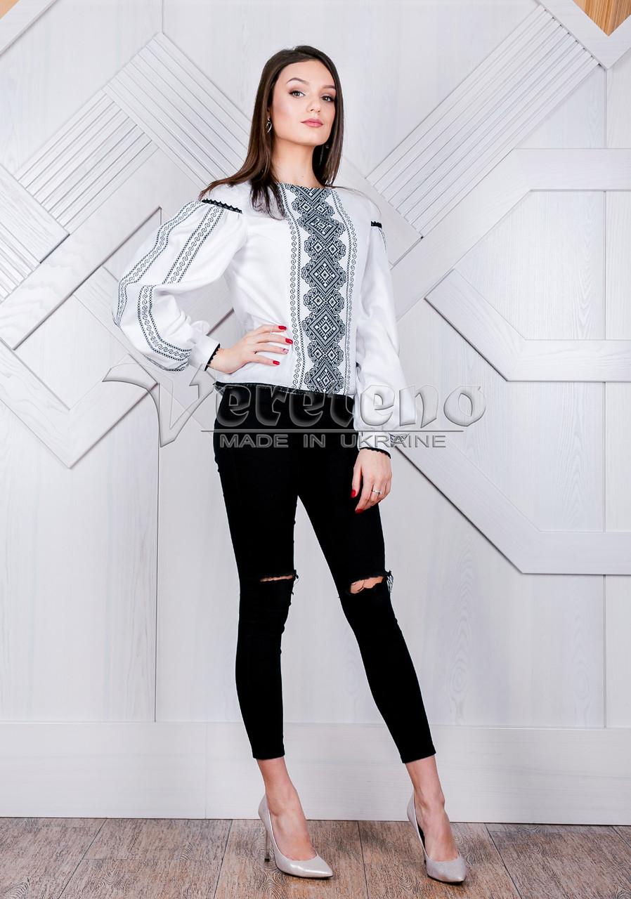 ... Жіноча вишиванка з геометричним узором.Натуральна тканина 23c8872847e20
