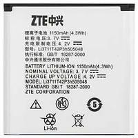 ✅Аккумулятор ZTE U791 / Li3711T42P3h505048 (1150 mAh)