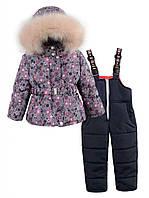 Зимний комбинезон для девочки - тройка, размеры 92, 98, 104, 110.