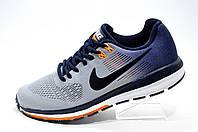 Беговые кроссовки в стиле Nike Structure 21, Gray\Orange\Dark blue