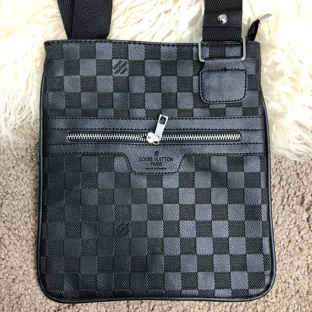 Мужская сумка-мессенджер Messenger Louis Vuitton District Pochette Damier  Infini - Интернет-магазин
