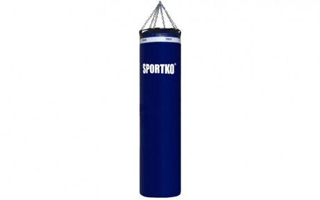Мешок боксерский Цилиндр с кольцом и цепью ПВХ h-180см SPORTKO MP-4090 (рез.крош,тырса,d-30см,50кг)