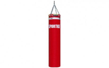 Мешок боксерский Цилиндр с кольцом и цепью ПВХ h-150см SPORTKO MP-4091 (рез.крош,тырса,d-30см,40кг)