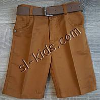 Бриджи для мальчика 8-12 лет (коричневые) пр.Турция