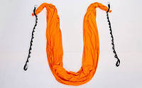 Гамак для йоги со стропами и креплением DH6026 Antigravity Yoga (полиэстер, р-р 280см х 5м, цвета в ассортименте)