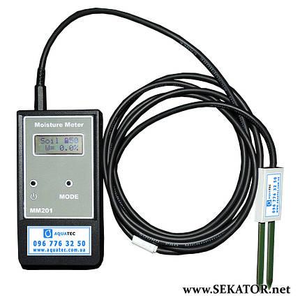 Електронний вологомір Moisture Meter MM201, фото 2
