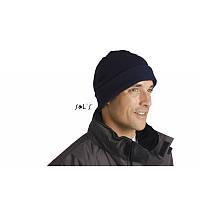 Шапка флисовая SOL'S ( шапка с отворотом )