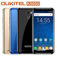 "Смартфон Oukitel K5000, 4/64Gb, 2sim, 5000mAh, экран 5.7"" IPS, 13/16Мп, GPS, 4G, 8 ядер, Android 7.0, фото 1"