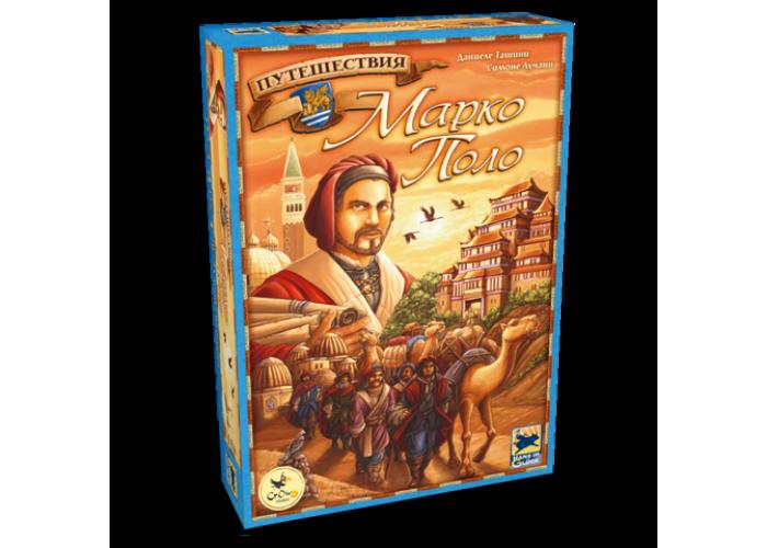 "Настольная игра ""Путешествия Марко Поло (The Voyages of Marco Polo)"" Crowd Games"