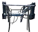 Быстросъемный навесной фронтальный погрузчик КУН на МТЗ, ЮМЗ, Т-40, фото 3