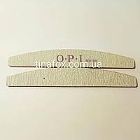 Пилочка для ногтей 80/80 OPI лодочка