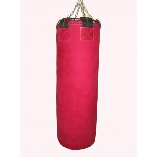 Боксерский мешок SPURT 130х40 кожа RED 2,2-3,0 мм.