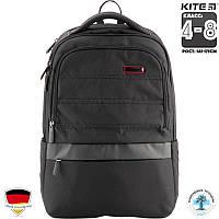 Рюкзак школьный бизнес-серии (K18-1022L) . Для классов(4-8)