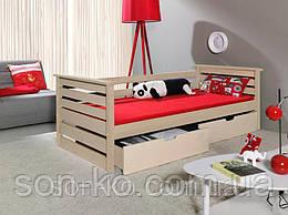 Дитяче ліжко з масиву бук Калина