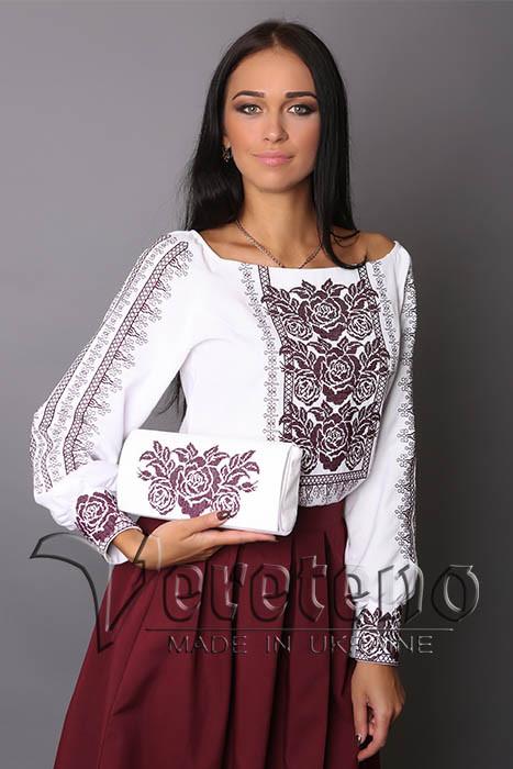 Жіноча вишиванка з льону a61349e954959