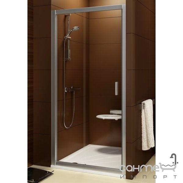 Душевые кабины, двери и шторки для ванн Ravak Душевые двери Ravak Blix BLDP2-100 0PVA0C00Z1 полир.