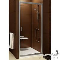 Душевые кабины, двери и шторки для ванн Ravak Душевые двери Ravak Blix BLDP2-110 0PVD0C00Z1 полир. алюминий/прозрачное универсальная
