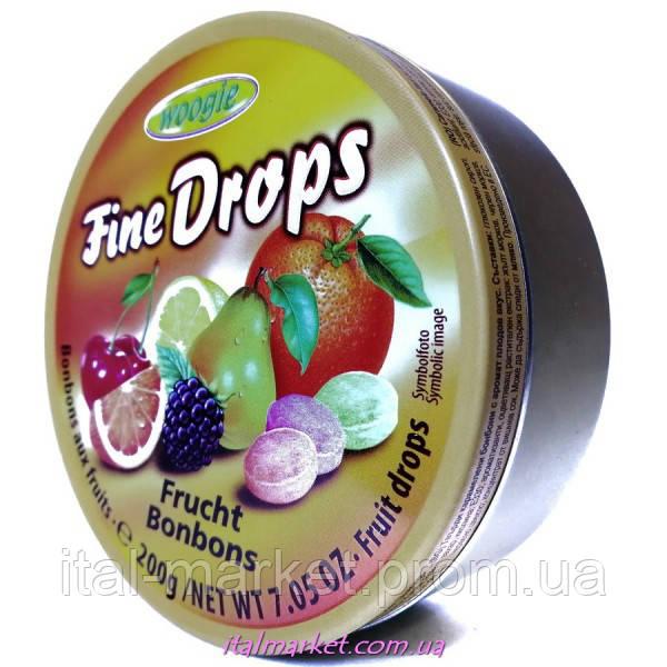 Леденцы фруктовые Frucht bonbons Fine Drops 200 г