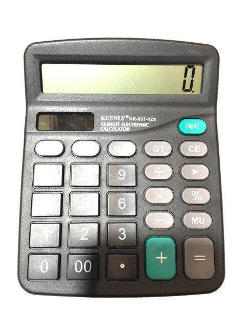 Инженерный калькулятор KK-837-12S ( настольный калькулятор )