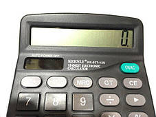 Инженерный калькулятор KK-837-12S ( настольный калькулятор ), фото 2