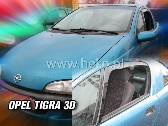 Дефлекторы окон (ветровики)  OPEL TIGRA - 3D(HEKO)