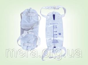 Мочеприёмник для ношения, 500 мл. с Т-краном, фото 2