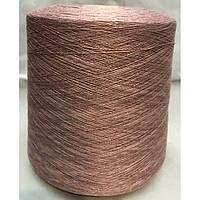 Хлопок 2/33 №2300152 Cостав: 50% хлопок, 50% акрил Пряжа в бобинах для машинного и ручного вязания