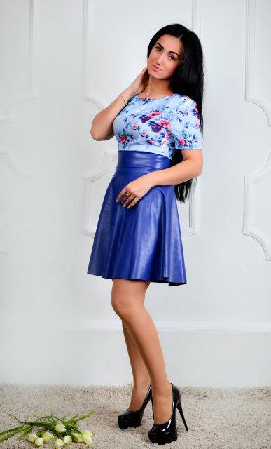 Нарядное повседневное платье (размер 44,46,48)