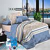 Семейное постельное белье из хлопкового сатина НИАГАРА (2 пододеяльника)