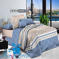 Семейное постельное белье из хлопкового сатина НИАГАРА (2 пододеяльника), фото 1
