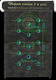 Агроволокно Черно-Белое AGREEN 1,60*50м 3отв в ряд. 50г\м.кв с перфорацией - 4сезона, фото 3