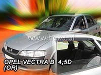 Дефлекторы окон (ветровики)  OPEL VECTRA 1996r-2002r SED,HTB→(HEKO)