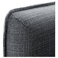 IKEA ВАЛЛЕНТУНА Диван 3-х частей, Hillared темно-серый | 091.498.55