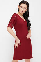 Женское платье с бусинами на рукавах(Caroline fup), фото 3