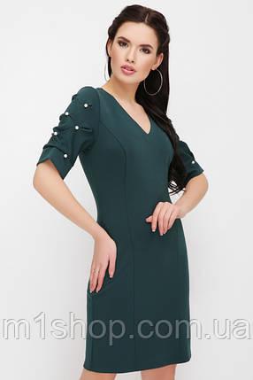 Женское платье с бусинами на рукавах(Caroline fup), фото 2