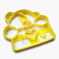 """3D форми для пряників - Вирубка """"Ведмедик Тедді №2"""""""