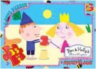 """BH001 Пазли ТМ """"G-Toys"""" із серії """"Маленьке королівство Бена та Холлі"""", 35 елементів (шт.)"""
