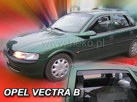 Дефлекторы окон (ветровики)  OPEL VECTRA  1996-2002R (+OT) SED (HEKO)
