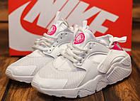 Кроссовки женские Nike Huarache 10733 найк хуарачи белые