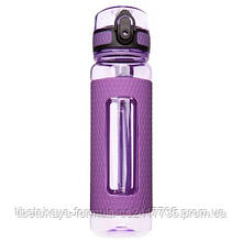 Бутылка для воды Uzspace: 450мл. Цвет: Фиолетовый