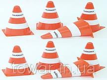 Тренировочные пирамиды Hudora  8 шт маркеры 23 с