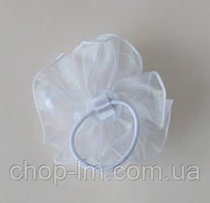 Резинка-бант (белый), фото 2