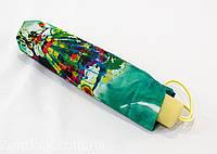 """Женский механический зонтик """"абстракция"""" на 10 карбоновых спиц от фирмы """"Calm Rain"""""""