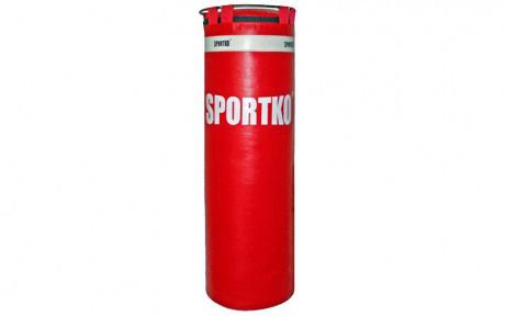 Мешок боксерский Цилиндр с кольцом ПВХ h-110см ЭЛИТ SPORTKO MP-2 (рез.крош,тырса, d-35см,вес-25кг)