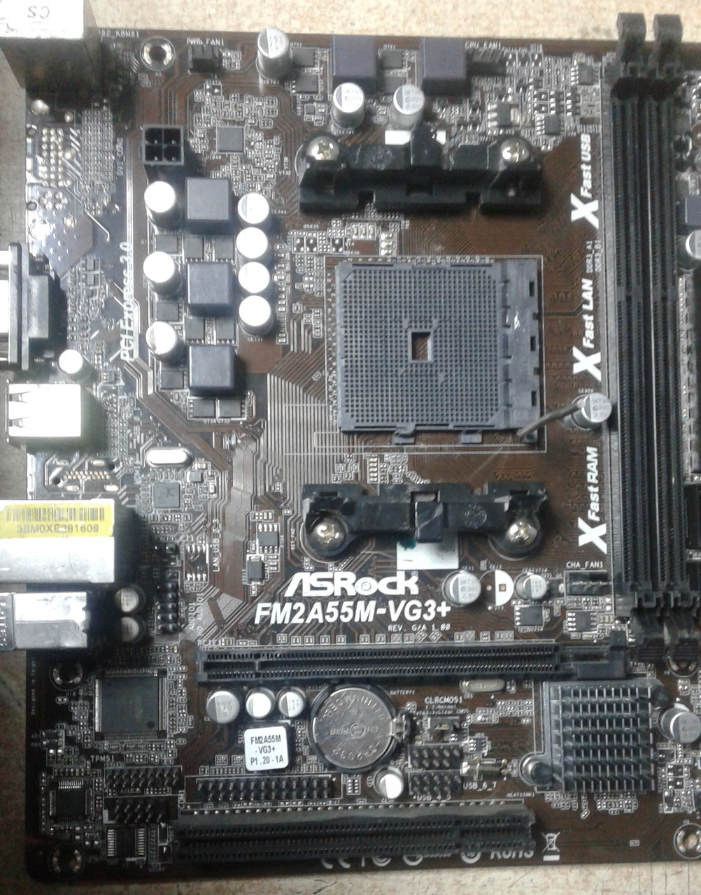 ASRock FM2A55M-VG3+ XFast LAN Drivers Update